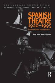 Spanish Theatre 1920 - 1995