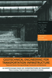 Geotechnical Engineering for Transportation Infrastructure