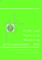FLAC and Numerical Modeling in Geomechanics 2003