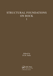 Structural Foundations on Rock, volume 1: Proceedings of the International Conference, Sydney, 7-9th May 1980