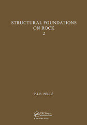 Structural Foundations on Rock, volume 2: Proceedings of the International Conference, Sydney, 7-9th May 1980