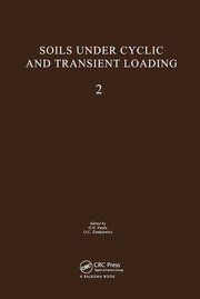 Soils Under Cyclic and Transient Loading, volume 2: Proceedings of the Internaional Symposium, Swansea, 7-11 January 1980, 2 volumes