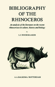 Bibliography of the Rhinoceros