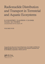 Radionuclide distribution and transport in terrestrial and aquatic ecosystems. Volume 4: A critical review of data (Prepared for the Commission of the European Communities)