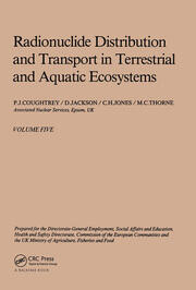 Radionuclide distribution and transport in terrestrial and aquatic ecosystems, volume 5: A critical review of data (Prepared for the Commission of the European Communities)