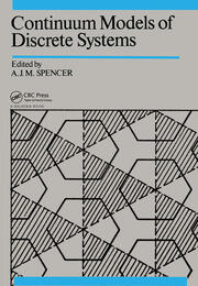Continuum Models of Discrete Systems: Proceedings of the fifth international symposium, Nottingham, 14-20 July 1985