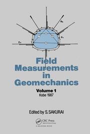 Field Measurem Geomechanics Volume 1