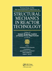 Structural Mechanics in Reactor Technology: Seismic Response Analysis of Nuclear Power Plant Systems, Volume K2