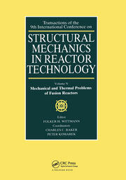 Structural Mechanics in Reactor Technology: Mechanical and Thermal Problems of Fusion Reactors
