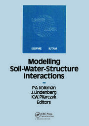 Modelling Soil-Water-Structure Interaction SOWAS 88