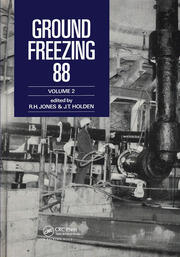 Ground Freezing 88 - Volume 2: Proceedings of the fifth international symposium, Nottingham, 26-27 July 1988, 2 volumes