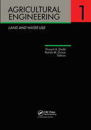 Agricultural Engineering Volume 1: Land and Water Use: Proceedings of the Eleventh International Congress on Agricultural Engineering, Dublin, 4-8 September 1989