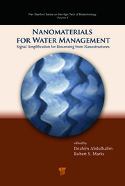 Nanomaterials for Water Management: Signal Amplification for Biosensing from Nanostructures