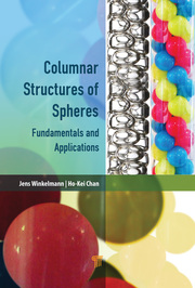 Engineering Columnar Crystals: A Novel Deposition Approach