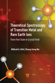 Theoretical Spectroscopy of Transition Metal and Rare Earth Ions: From Free State to Crystal Field